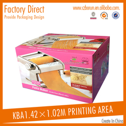 Factory direct fruit and vegetable display box with hot stamping