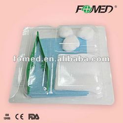 Adhesive waterproof medical surgical wound care dressings pack