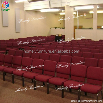 hot sale used stackable stacking church seat