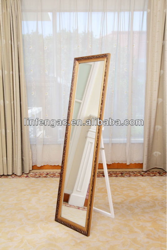 Wood Framed Professional Makeup Mirror