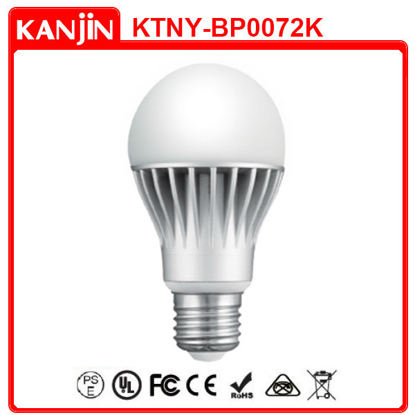 BRIGHTER 7W LED BULB UL FCC APPROVED TAIWAN MADE LED LIGHTING FIXTURE