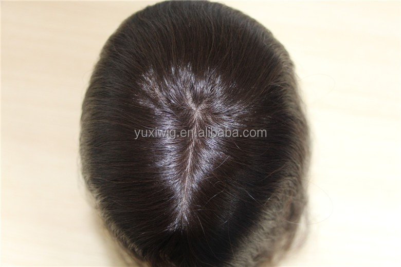 Hair Topper Malaysian Remy hair piece with Clips
