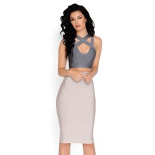 2018 NEW 3 Colors Slim classic tube sexy party bandage Skirt women