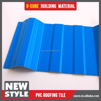 china clear color pvc tile roofing terrace roof