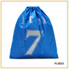 Custom Newest Webbing String Backpack Polyester Sports Drawstring Bag