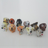 funny figurines plastic cartoon dog figurines