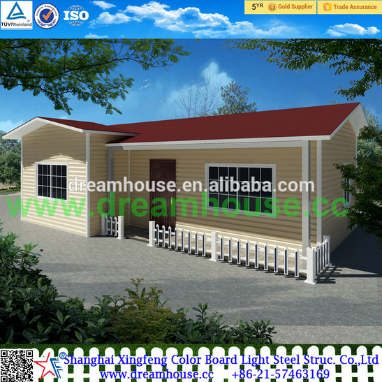 prefabricated summer modular prefab assemble houses/cabins homes/chalet villa/bungalow evler/maison cottage