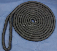 12mmx5m dock line Heavy Duty Diamond Braid Polypropylene Rope