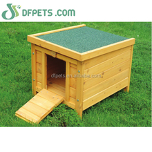 Cheap small wooden rabbit cage for sale DFR043