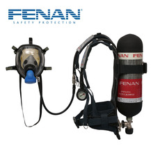 Firefighting equipment SCBA with 6.8 L carbon fiber cylinder