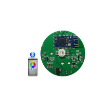 Smart RGB Bluetooth Speaker 94V0 LED Circuit Board, OEM Wireless Bluetooth4.0 LED PCB Assembly