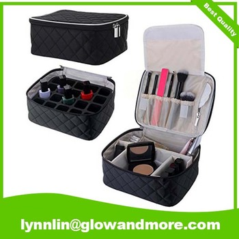 Factory Toiletry Carry Organizer Cotton Cosmetic Bag