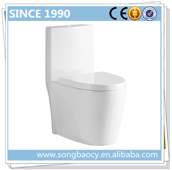 9168 Sanitary ceramic toilet produce d shaped toilet seat