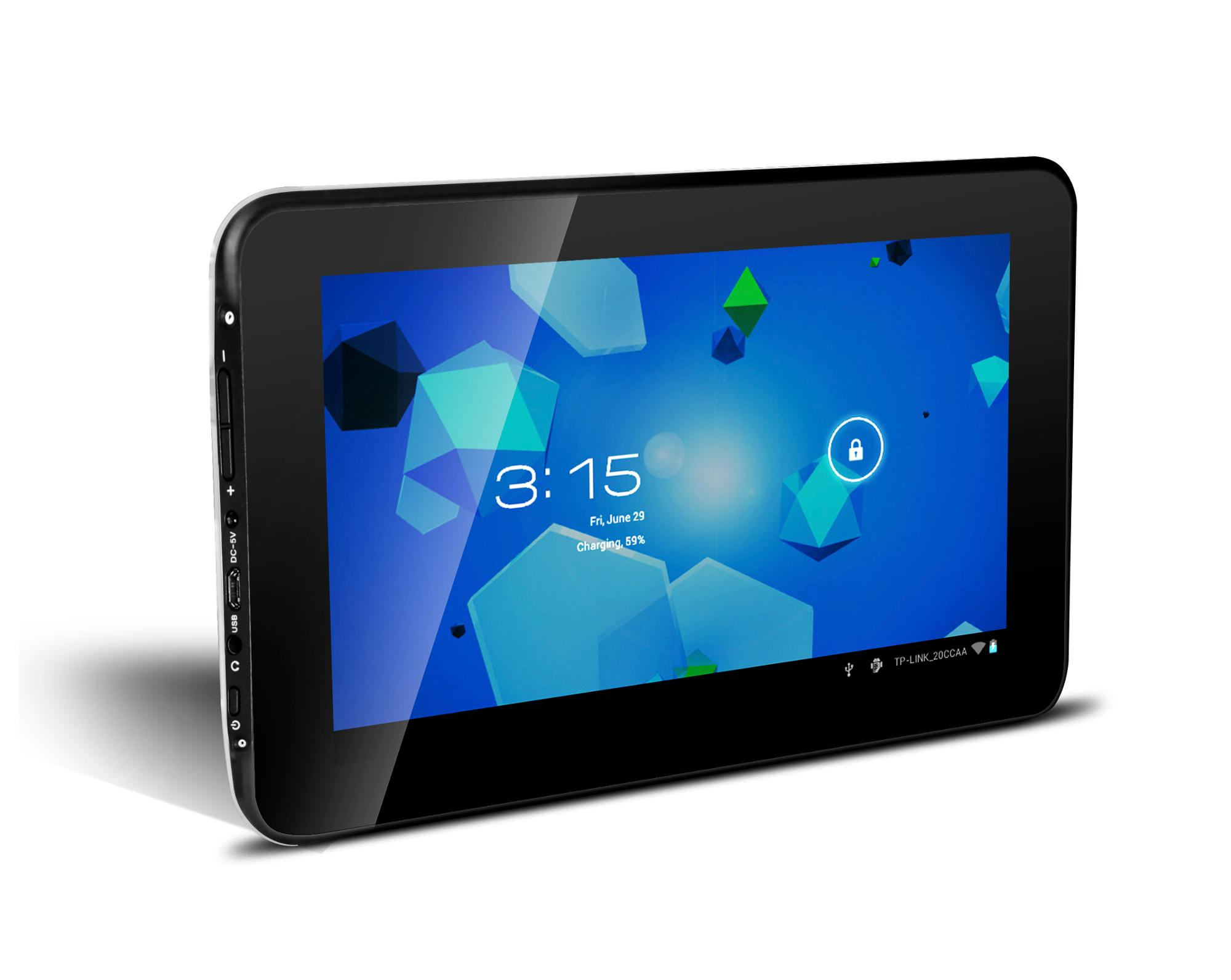 "7 Inch MID Tablet Pc 7"" Allwinner A33 Quad core 1.3GHz  86V Tablets 1G RAM 8GB ROM"