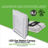 SNC DLC UL cUL 75w petrol station light 75W LED gas station canopy lighting with 5 years warranty