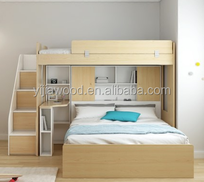 New design double - deck children's bed of science structure