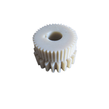 Used for electric motor pa plastic white plastic double spur gear