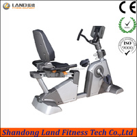 China Sports Show LAND fitness gym use magnetic exercise bike Recumbent bike