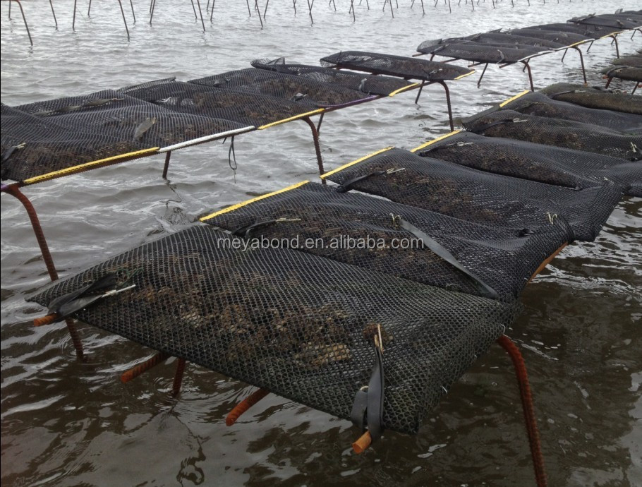 HDPE aquaculture oyster cultication floating cage