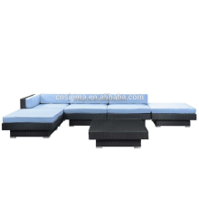 SIGMA thai outdoor furniture outdoor rattan sectional lounge set modern sofa