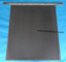 Titanium anode used in electroplating rack