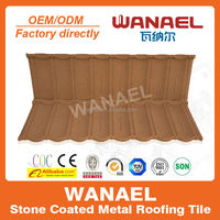 Bond Wanael stone coated metal roof tiles/tiles price square meter/roof sheets price per sheet