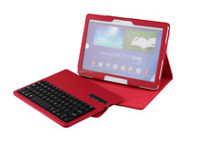 Detachable Bluetooth Keyboard Leather Case With Holder for Samsung Galaxy Note 10.1inch (2014 Edition) P600/T520-SA106