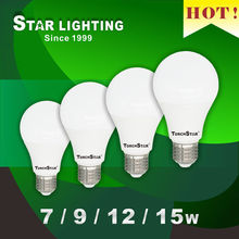 Home use saving 50% energy compare to CFLs E27 LED bulb