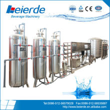 industrial distilled water treatment purifying process equipment