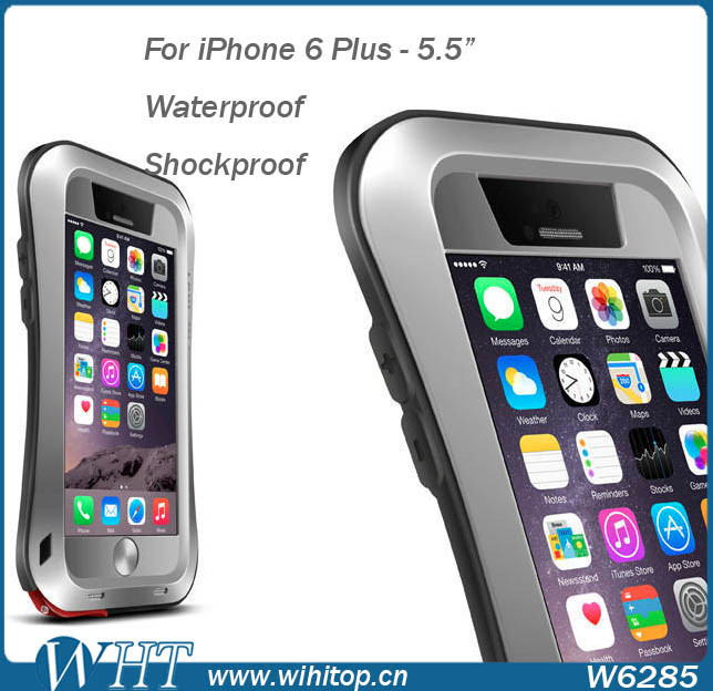 Retail Box Package LOVE MEI Shockproof Dirtproof Waterproof Case for iPhone 6 Plus
