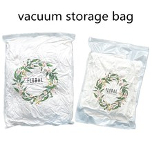 Fashion Designed Transparent Plastic Household Storage Protection Bag Vacuum Clothing Compressed Bags