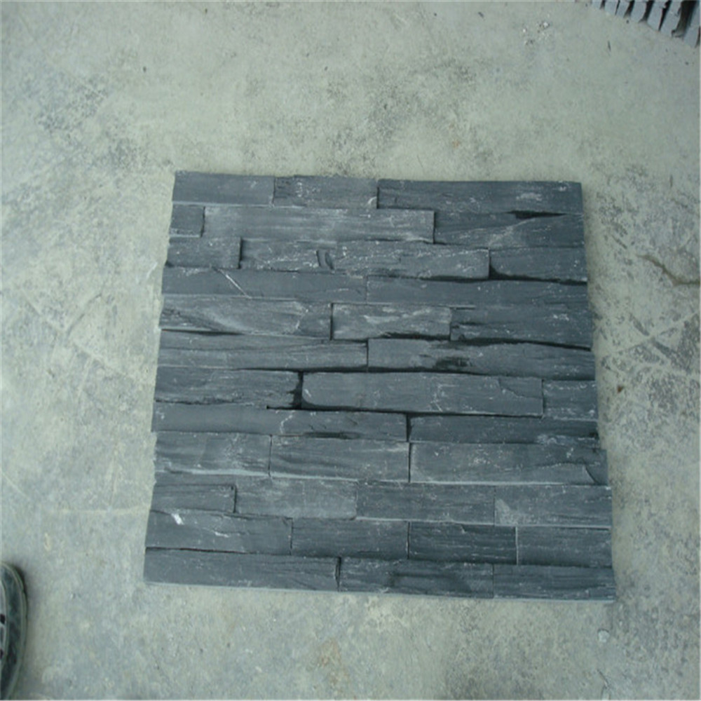 decorative outdoor stone wall tiles black slate flooring