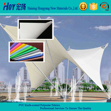 PVC Coated POlyester Fabric Cold Resistant Stretch Fabrics
