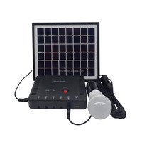 DC Solar Lighting System Portable Suitcase