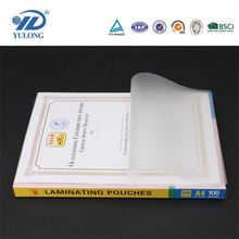 2016 new products :High glossy and transparent anti static laminating film pet pe