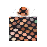 120 color palette shimmer and matte version manly cosmetics eyeshadow/ eyeshadow palette