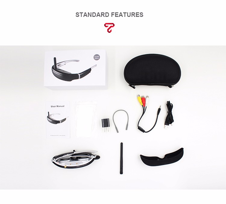 68 inch Augmented reality video glasses UAV goggle Display FPV vr equipment