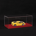 custom design clear acrylic favor box for display car model