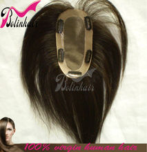 SHEDDING KILLER SILKY STRAIGHT CHINESE HAIR WAVE TOUPEE FOR WOMAN