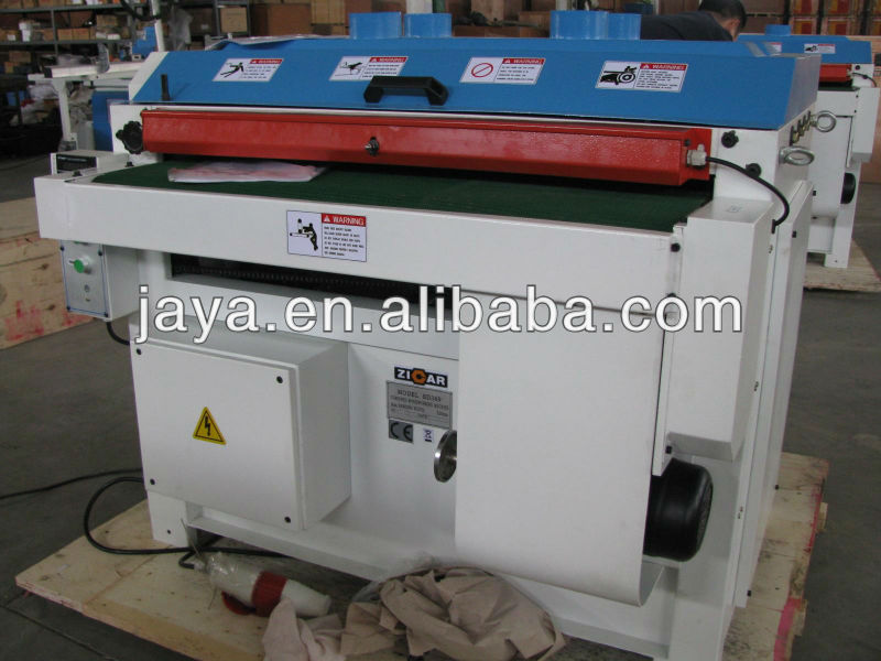 ZICAR 920mm dual drum sander machine/industrial belt sander/wide belt sander machine