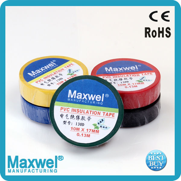 PVC electrical tape shiny pvc electrical tape made in China