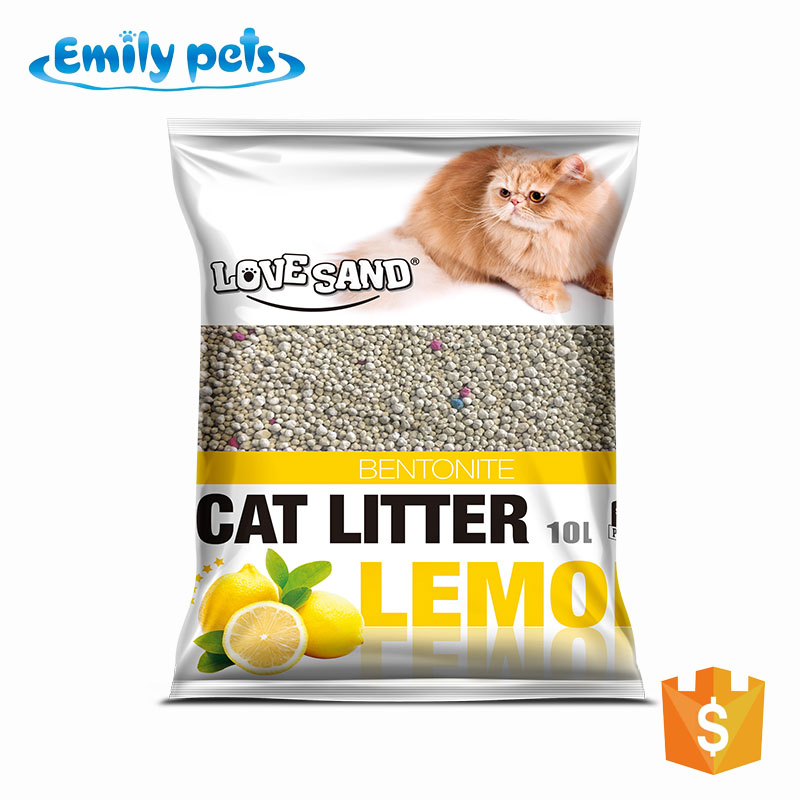 Long lasting odor control bentonite deodorant cat litter pet cleaning & grooming products cat sand