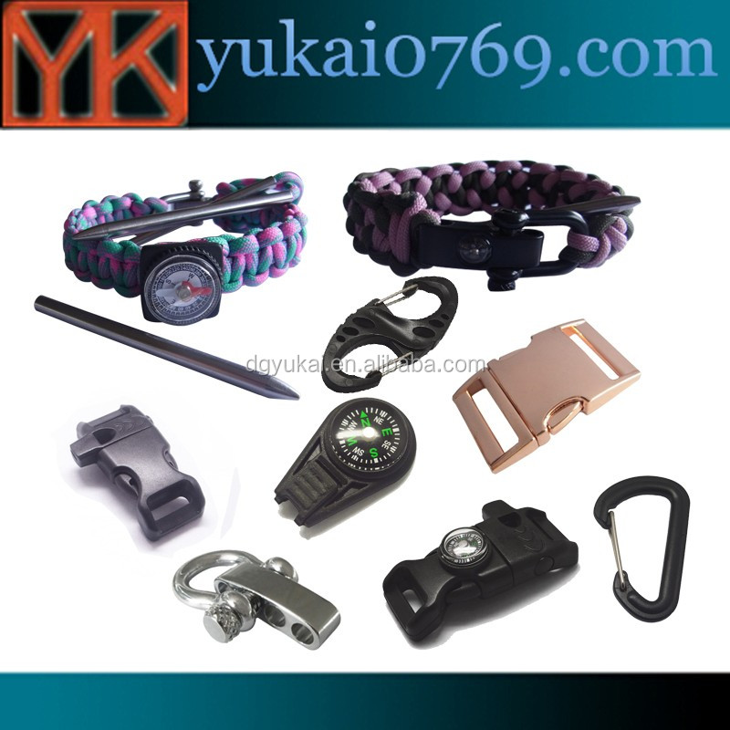 Yukai metal adjustable slider buckles/metal triglide buckle for handbags