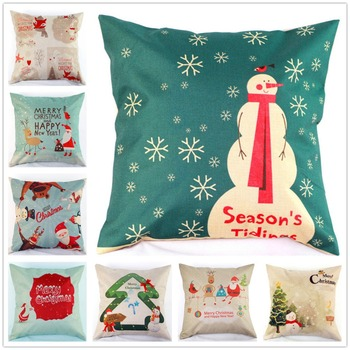 Fashion Design Multi-color Pillow Cover PP Cotton Filling High Quality Chritmas Design Sofa Cushion