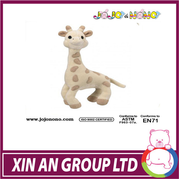 2014 promotion gift plush toy free sample baby toys 0-3 months