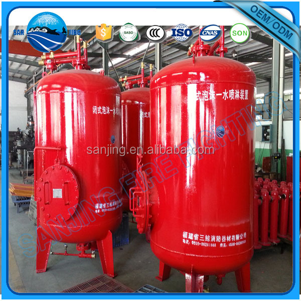 Hot new products fire fighting equipment fire suppression foam tank