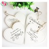 Quality Customized Heart Wood Ornament With