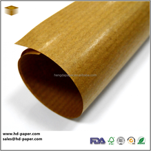 Golden Brown Ribbed Kraft Paper in rolls/sheets