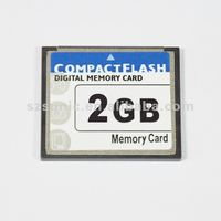 High speed 2gb CF card for camera and advertising player