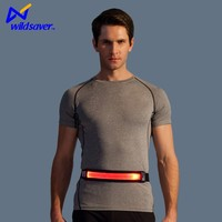 High Visibility grow light reflective safety led running belt